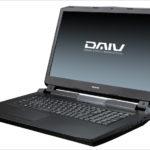 マウス DAIV-NG7620 - デスクトップ用CPUを搭載するクリエイター向け17.3インチノートPC、でかいぜ!