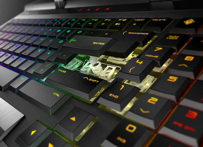 OMEN X By HP 17 キーボードのイメージ画像