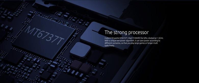 搭載CPUはMT6737T