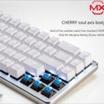 Ajazz ZN - Cherry MXスイッチを使った中華メカニカルキーボード(60%)、配列も思ったよりはよさげよ!