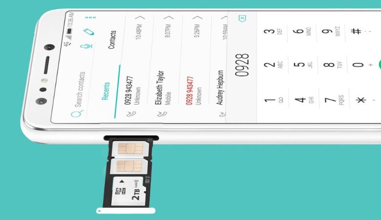 ASUS ZenFone 5 Lite SIMスロット