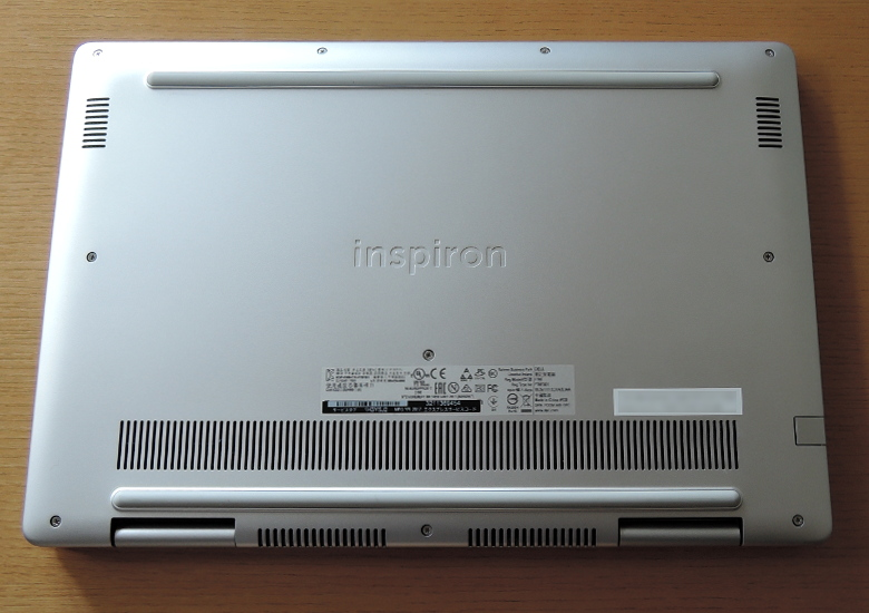 DELL Inspiron 15 7000(7570)底面