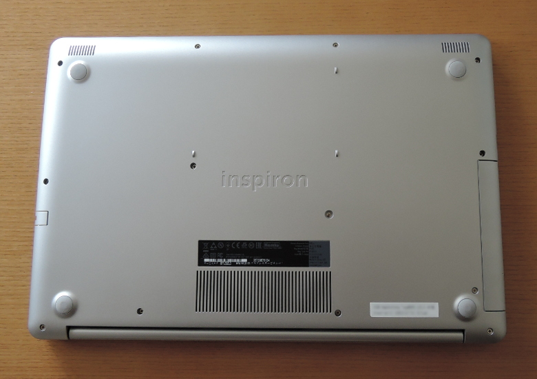 DELL Inspiron 17 5770 底面