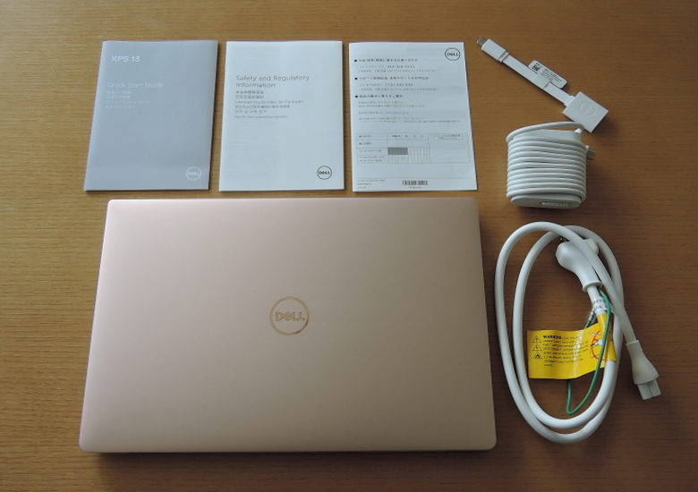 DELL XPS 13(9370)同梱物