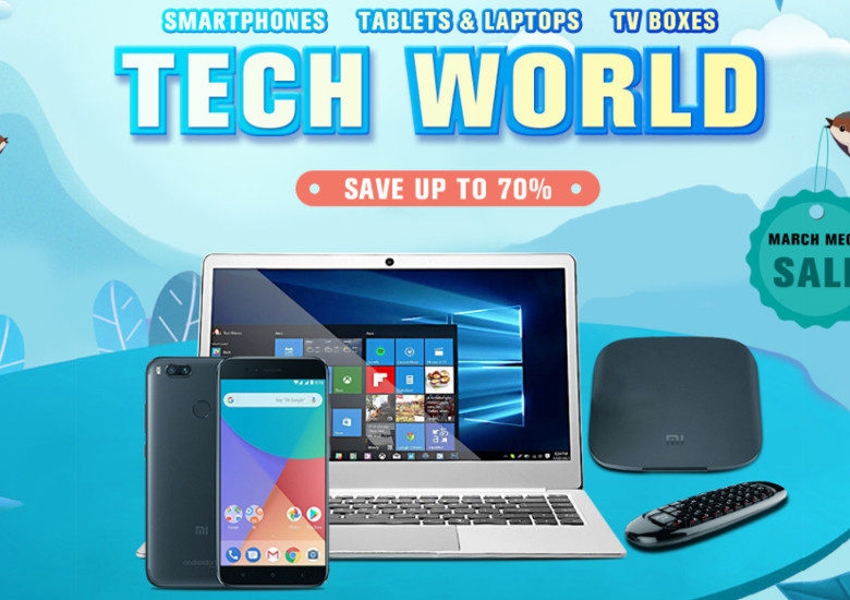 geekbuyingのNew Tech Sale