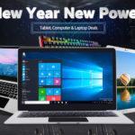 セール情報 - geekbuyingでMWC&Chinese New Yearセールを開催中!モバイルノートとタブレットが安くなってます