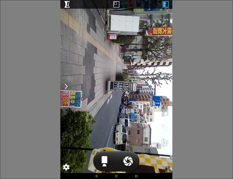 カメラアプリのUIはMediaTek製SoC搭載スマートフォンでもおなじみのもの