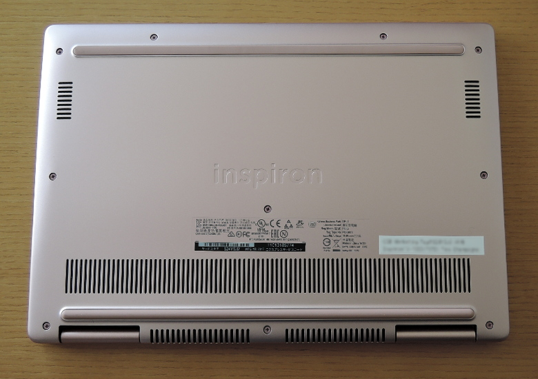DELL Inspiron 13 7000(7370)底面