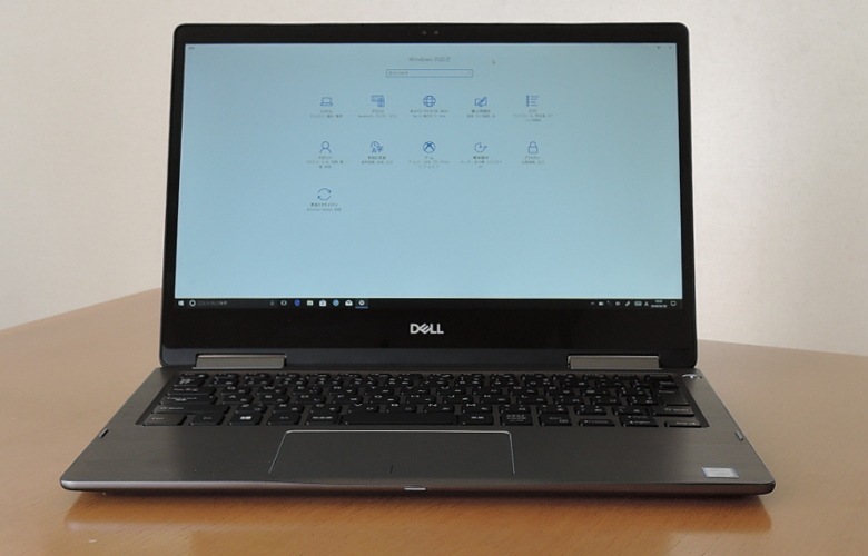 DELL Inspiron 13 7000 2 in 1 正面
