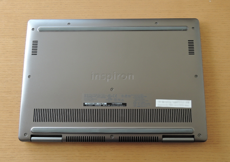 DELL Inspiron 13 7000 2 in 1 底面