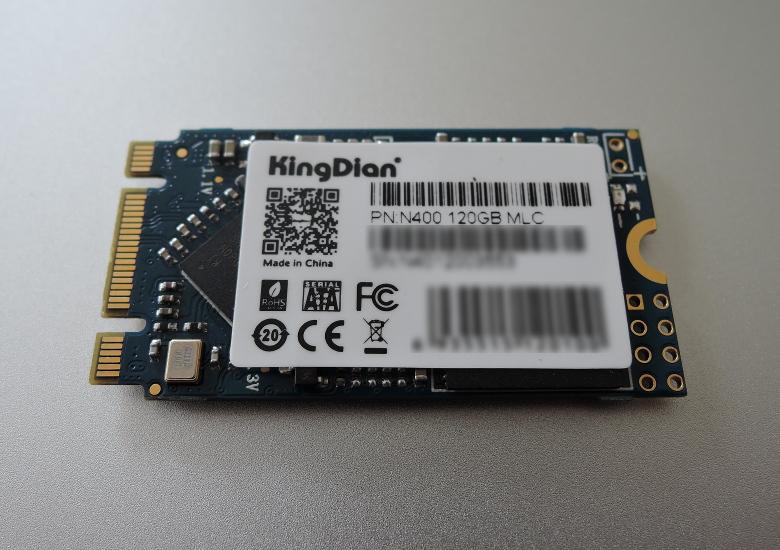 中華PCにM.2 SSDを増設