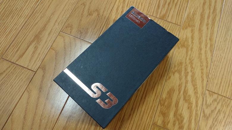Bluboo S3 レビュー 外箱