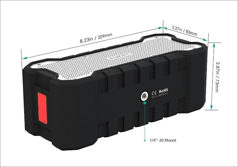AUKEY Bluetoothスピーカー SK-M12