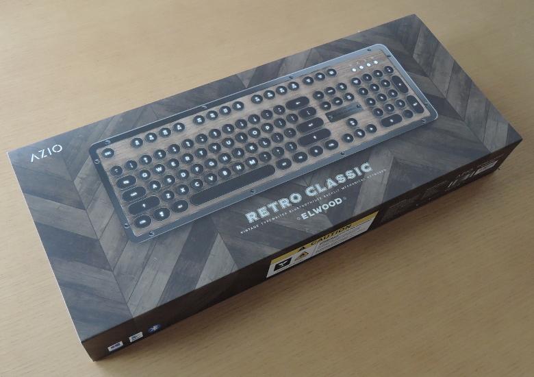Azio Retro Classic 外箱