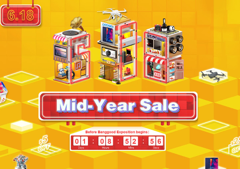 BanggoodのMid-Yearセール