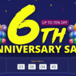 セール情報 - geekbuyingが6周年セールを開催中!「セール品にも使える6ドルOFFクーポン」を活用しよう!