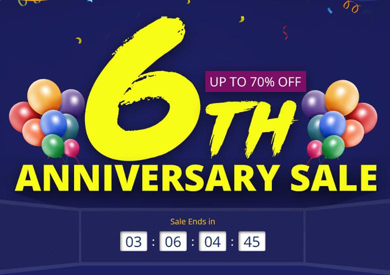 Banggood 6周年セール
