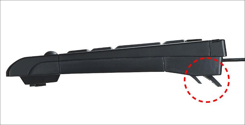 サンワサプライ トラックボール内蔵キーボード SKB-TR05BK
