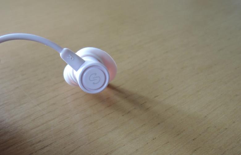 SoundPEATS Q30 Plus Bluetooth イヤホン 背面