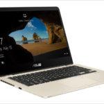 ASUS ZenBook Flip 14 UX461UN - 薄型ながらGeForceを搭載する14インチ・コンバーチブル2 in 1