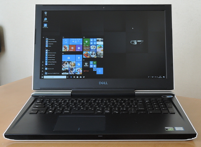DELL G7 正面