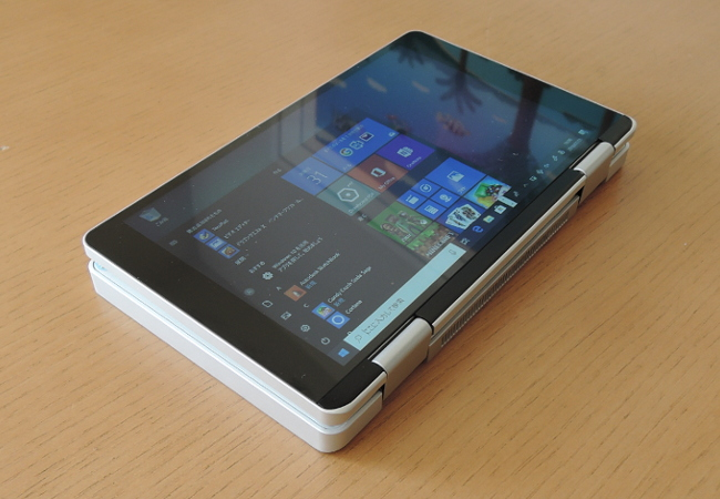 One Netbook One Mix タブレットモード
