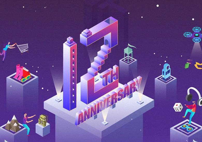Banggood 12周年記念セール