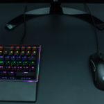 上海問屋  バックライト搭載 左手用メカニカルゲーミングキーボード - これを使えばFPSが有利になるかも!?