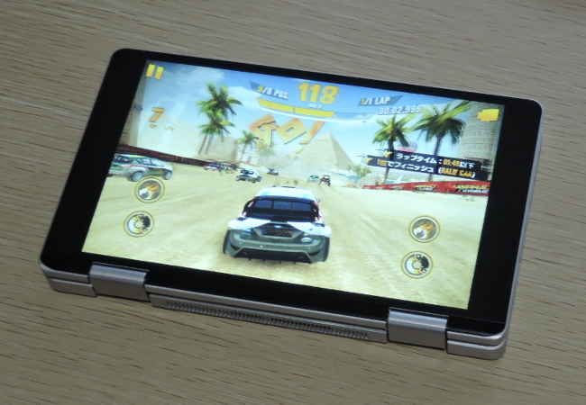 One Netbook One Mix レビュー第2回 タブレットモードでゲーム