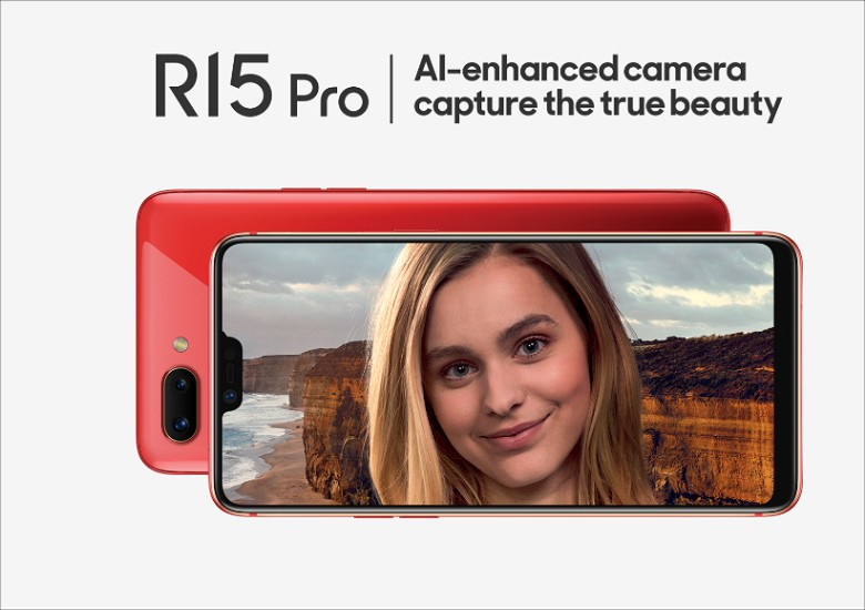 Oppo R15 Pro Top