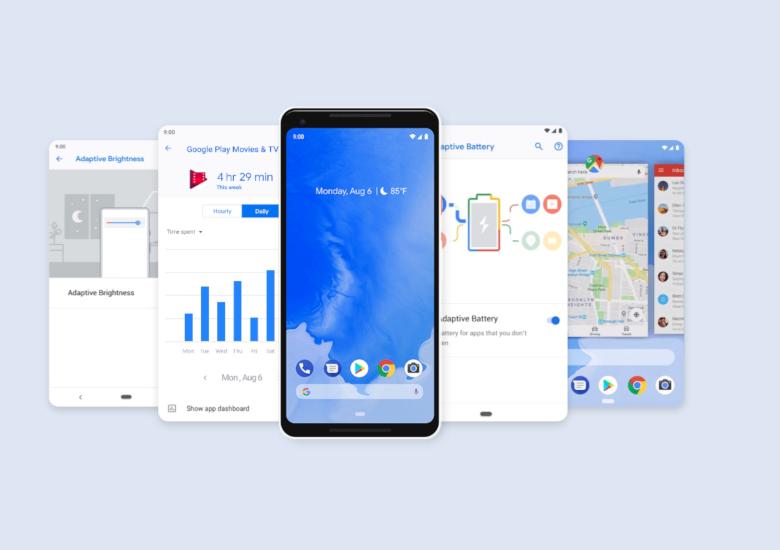 Android 9.0 Pai 正式リリース開始