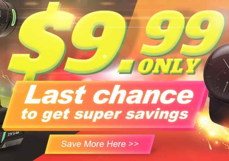 Banggood 12周年セールはクライマックス