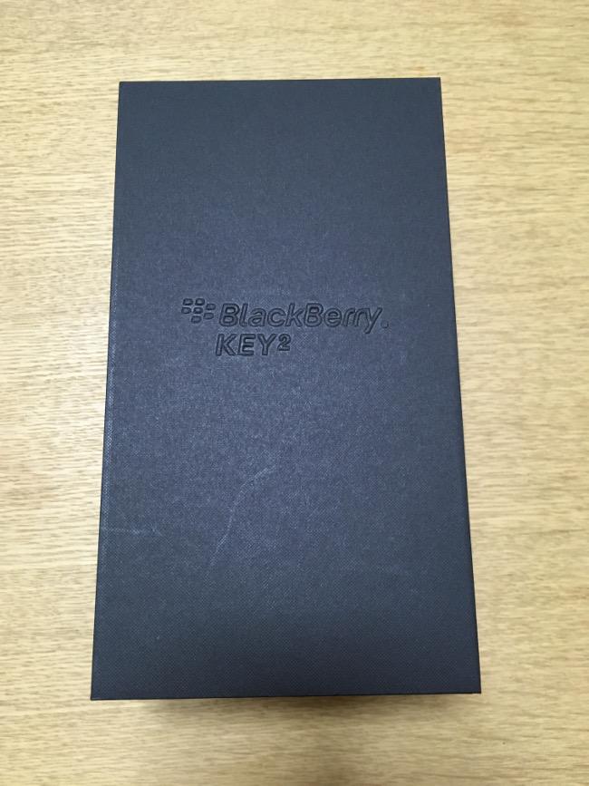 BlackBerry KEY2 内箱