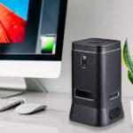 ECDREAM V6B - カメラとスピーカー、マイクを内蔵するWindowsのミニPC、Cortanaさんを呼んでスマートスピーカーっぽく使える!?