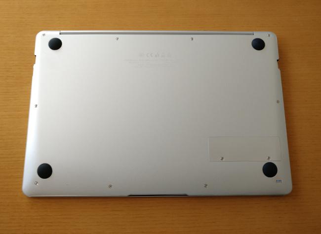 Jumper EZbook X4 底面