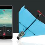 POWERUP DART - スマホで操作できるプロペラ式紙飛行機!これは皆さん刺さりますな…