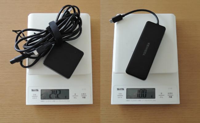 東芝 dynabook VZ82/F 重量