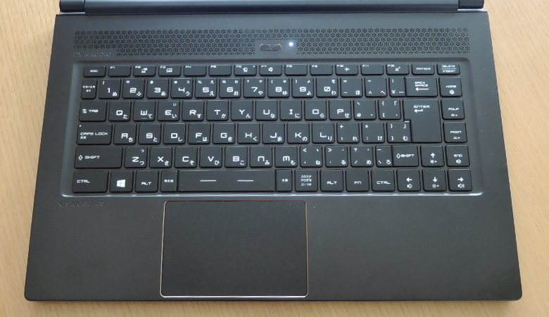 MSI GS65 Stealth Thin キーボード