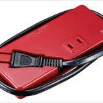 サンワサプライ モバイルUSB充電付タップ TAP-MU1 - 出張や旅行のお供に最適!USBポートのついた2口タップ