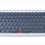 AJazz Zero レビュー - タイプライターっぽいデザインがかわいい青軸メカニカルキーボード(読者レビュー:このみあきさん)