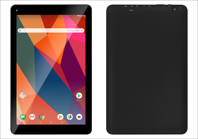 FRONTIER 7インチ / 10.1インチ Android 8.1 タブレット