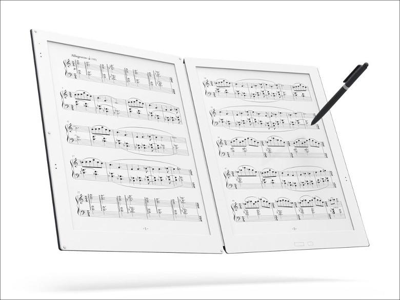電子ペーパー楽譜専用端末「GVIDO」