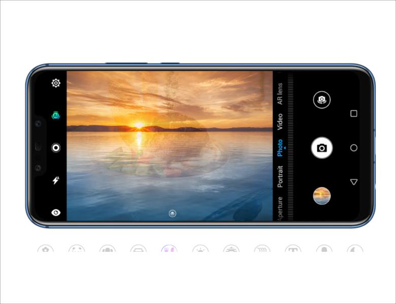 Huawei Mate20 lite カメラ