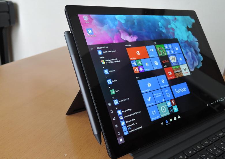 Microsoft Surface Pro 6 ペンにマグネット