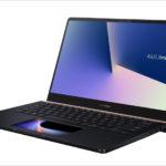 ASUS ZenBook Pro 14 UX450FDX / ZenBook 14 UX433FN - タッチパッドにギミックあり!14インチでスリムなノートPC