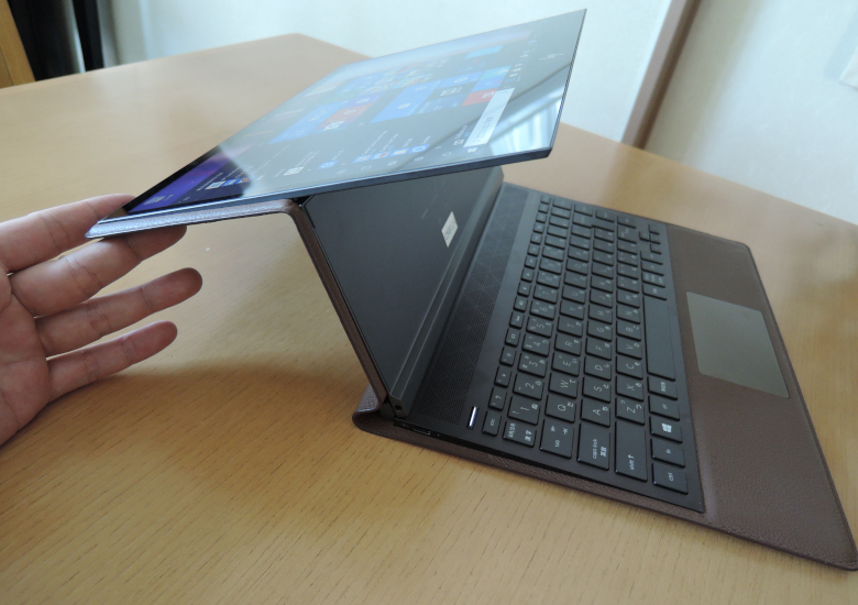 HP Spectre Folio 13 変形
