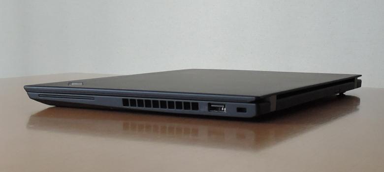 Lenovo ThinlPad X280 レビュー 右側面