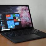 Microsoft Surface Laptop 2 レビュー - 13.5インチ、Surfaceシリーズのクラムシェルノート、新色ブラックを試す!(実機レビュー)