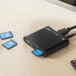 サンワサプライ 4K対応メディアプレーヤー 400-MEDI023 - パソコンなしでUSBメモリーやSDカードの画像や動画を見られます!