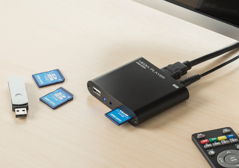 4K対応メディアプレーヤー 400-MEDI023